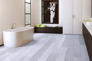 sol pvc pour salle de bain tendance