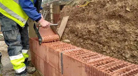 prix d un mur en brique monomur cout