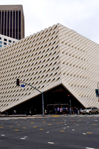 Girl in the City / The Broad, Los Angeles