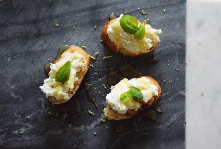 Homemade Fresh Ricotta Recipe