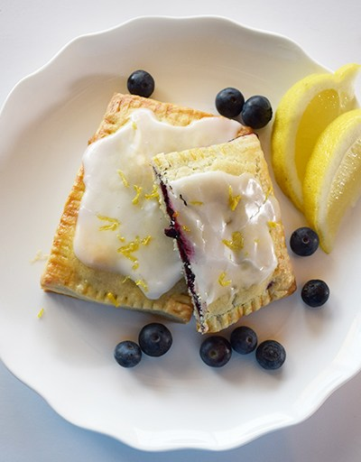 Blueberry Lemon Hand Pies