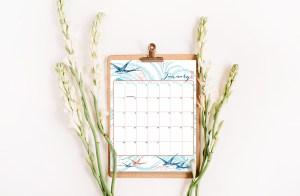 FREE 2018 Printable Calendar!