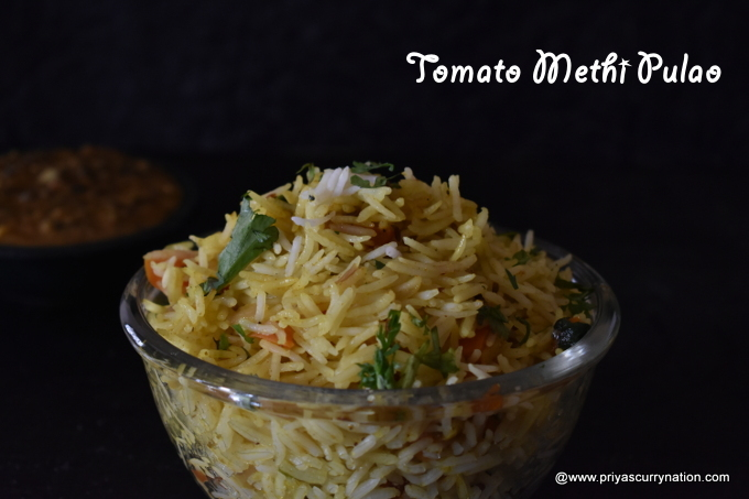 tomato-methi-pulao-recipe