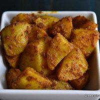 Potato Pepper fry recipe | spicy potato fry, how to make Less oil potato fry recipe at home