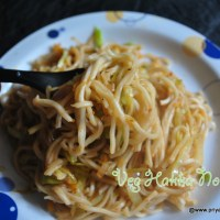 vegetable hakka noodles with schezwan touch recipe | how to make schezwan noodles