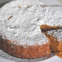 eggless carrot cake recipe , carrot cinnamon cake recipe | easy carrot cake