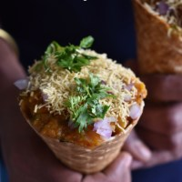 pavbhaji cone recipe | how to make bhaji cone recipe