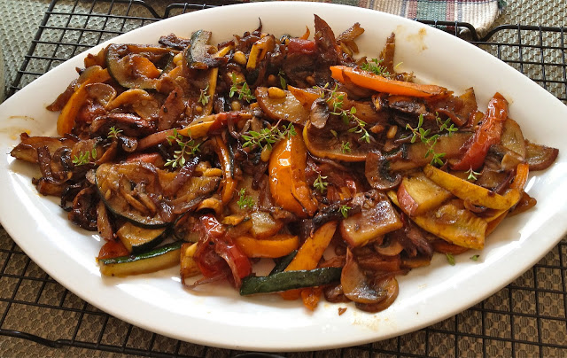Colorful Veggie Stir Fry – Indian Chinese Style