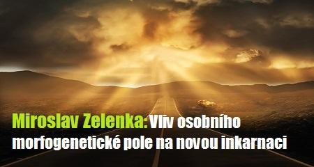 Miroslav Zelenka: Vliv osobního morfogenetické pole na novou inkarnaci
