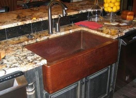 Sinks Are The Big Splash at Atlanta Street of Dreams 2007 ... on Farmhouse Granite Countertops  id=87763