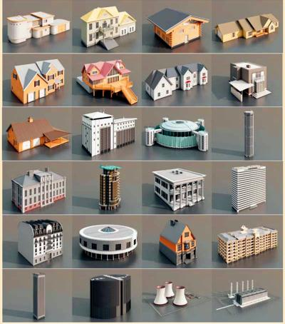 Building Design In 3D 3D Animation Of Building Design At