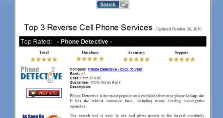 Cell Phone Reverse Look Up Services Reviewed