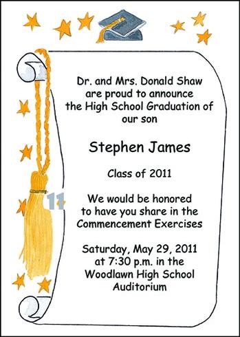 Memorable Graduation Invitations for Graduating Students ...