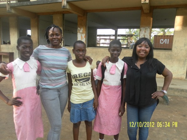 Nkechi's October 2012 Visit to KP Girls In Nigeria