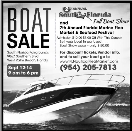 This Weekend 2nd Annual South Florida Fall Boat Show And