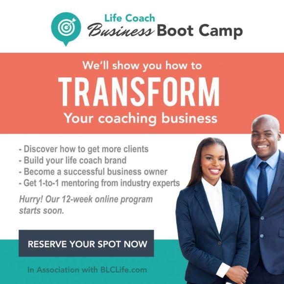 Life Coaches Prepare to Transform Their Business -- Black ...