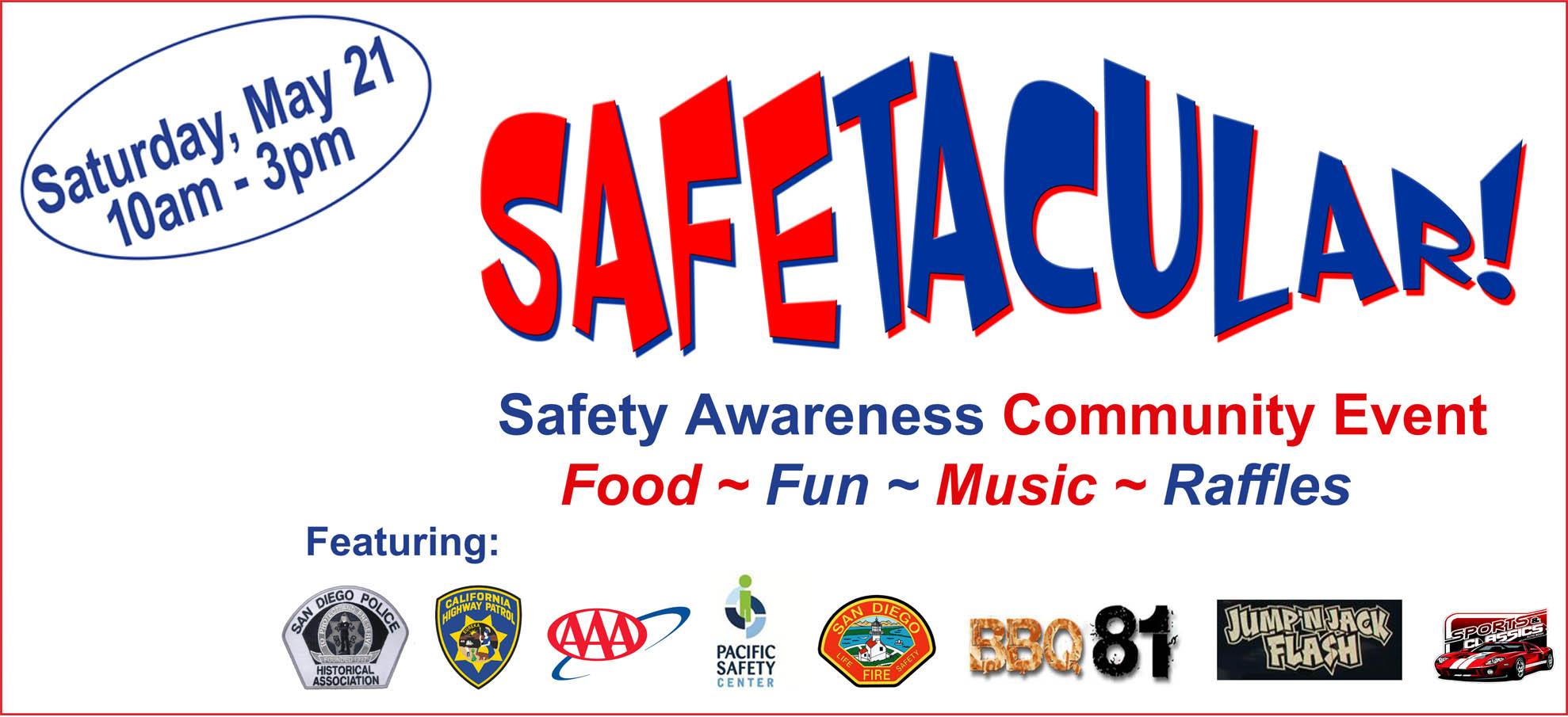 Safetacular Safety Awareness Community Event