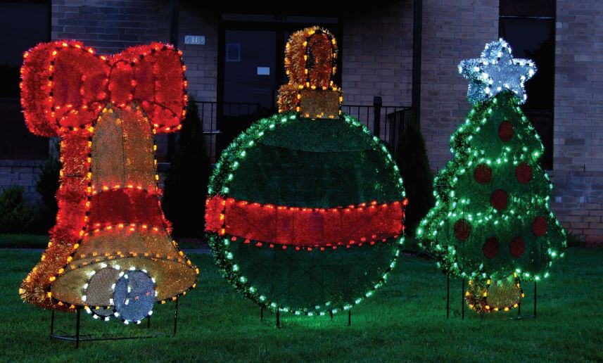 Astounding NEW Designs And 3D Holiday Decorations Temple Display PRLog