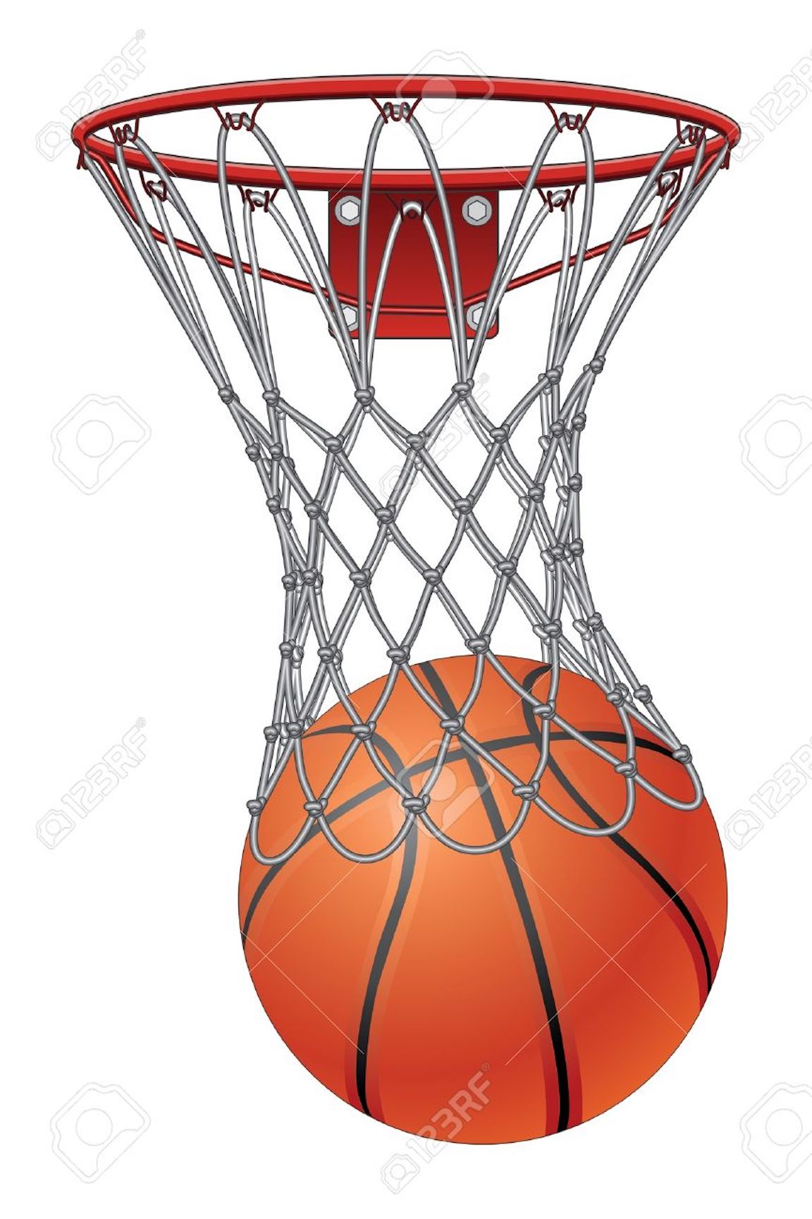 Basketball Clipart Coloring Pages And Other Free Printable Designs