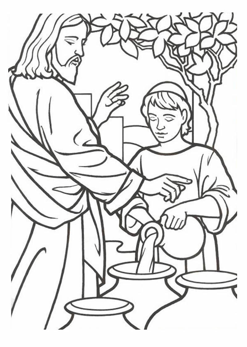 The Top 10 Bible Stories Free Printable Coloring Pages
