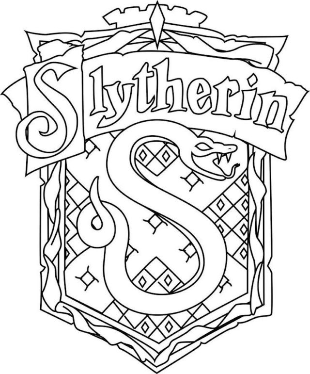 Harry Potter Coloring Pages And Dozens More Themed Coloring Challenges