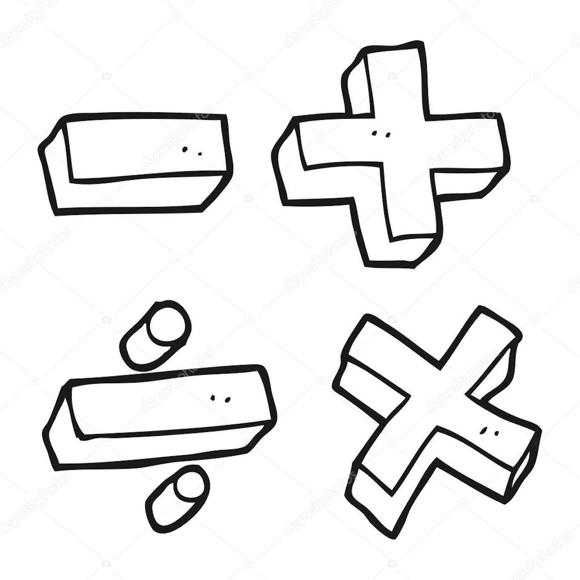 Math Clipart Coloring Pages And Other Free Printable