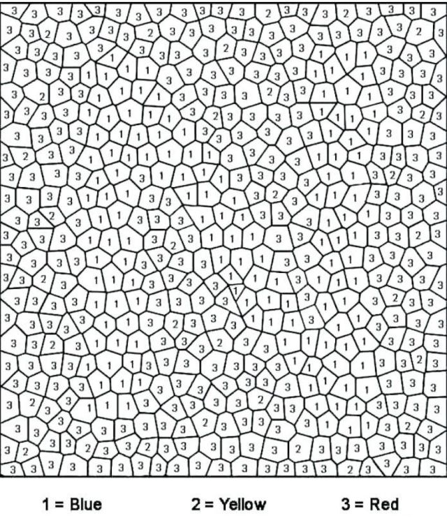 Color By Number Coloring Pages And Other Top 26 Coloring Themes