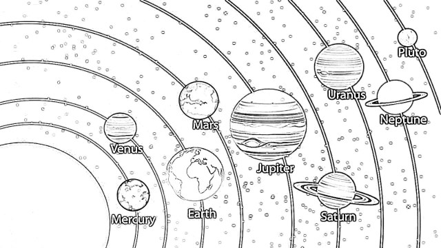 Solar System Coloring Pages And More Top 23 Themed Coloring Challenges
