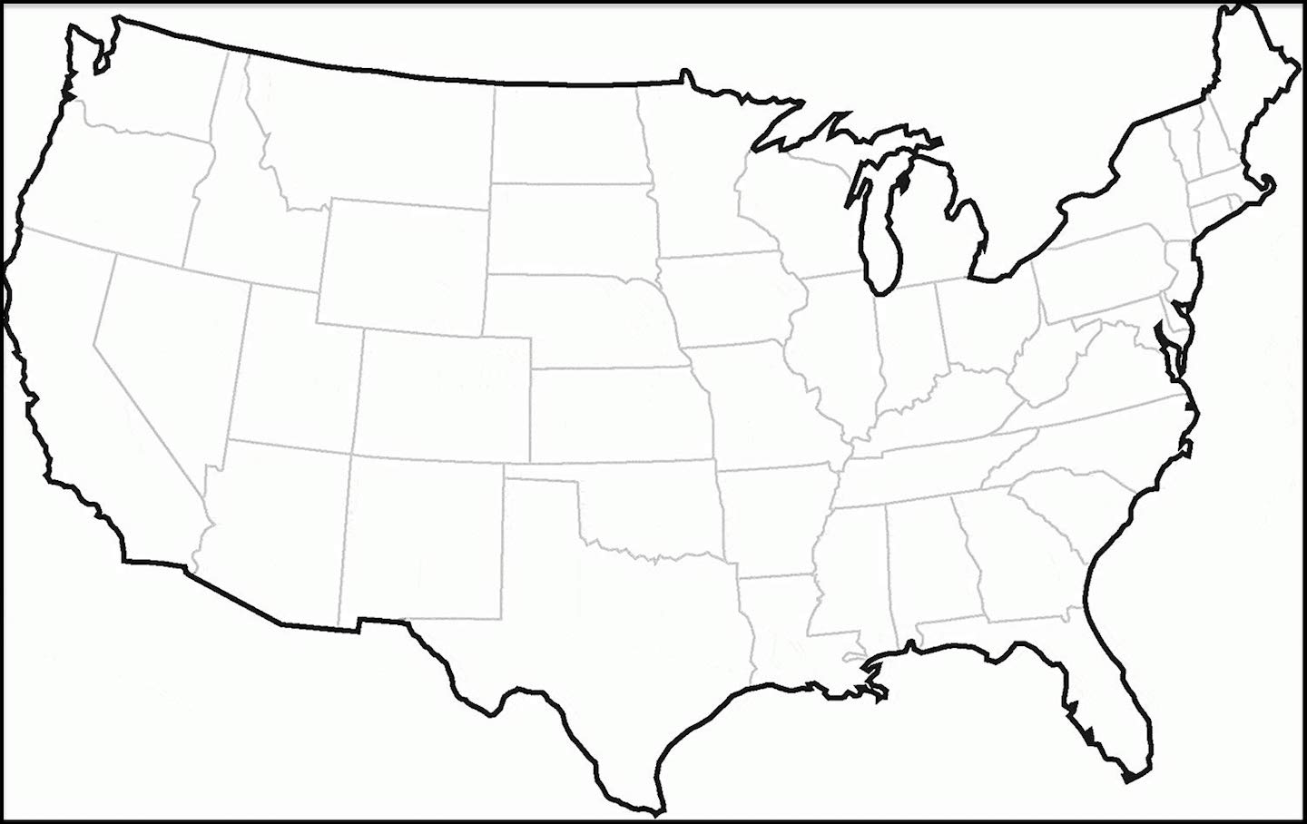 Color it with a pattern (dots, stripes, etc.). Us Map Collection With National Maps Coloring Pages And More