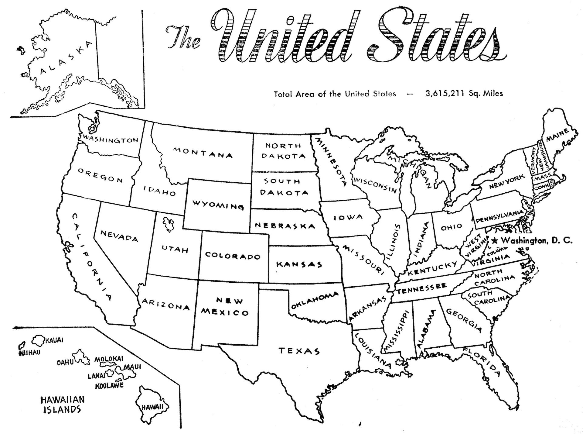 Us Map Collection With National Maps Coloring Pages And More