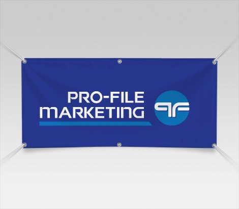 Full color outdoor vinyl banner printing