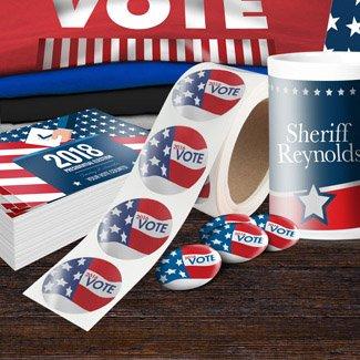 Political Campaign Stickers