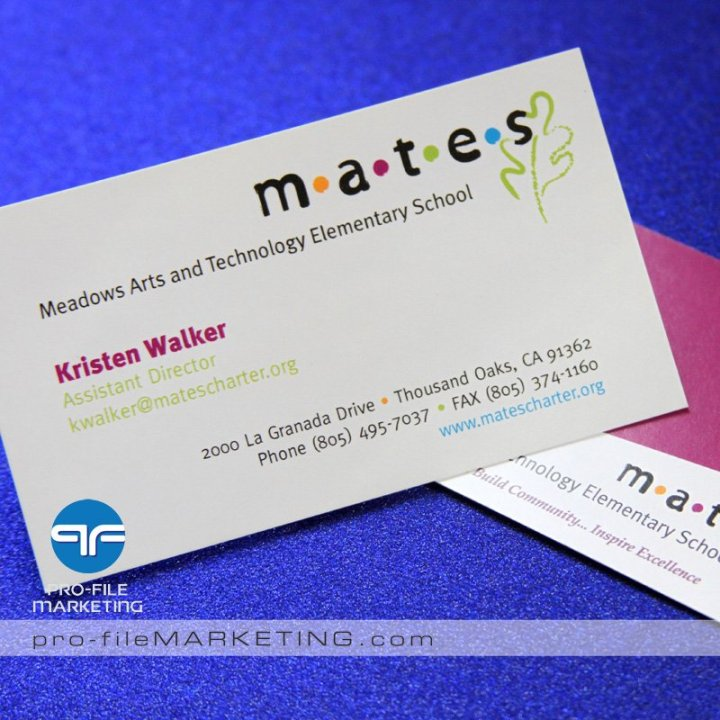 Las vegas business card printing company pro file marketing reheart Gallery