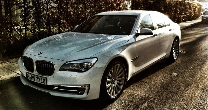 BMW Mietwagen für Trip zur LCS
