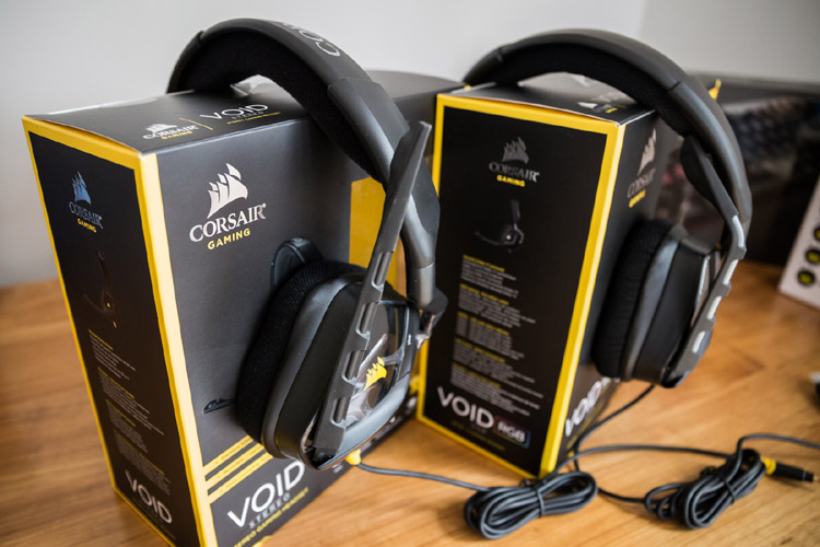 corsair void review headsets