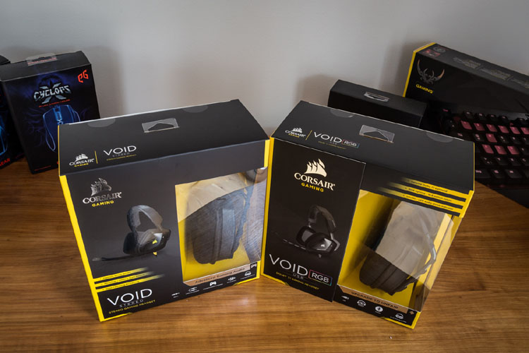 corsair void test packung