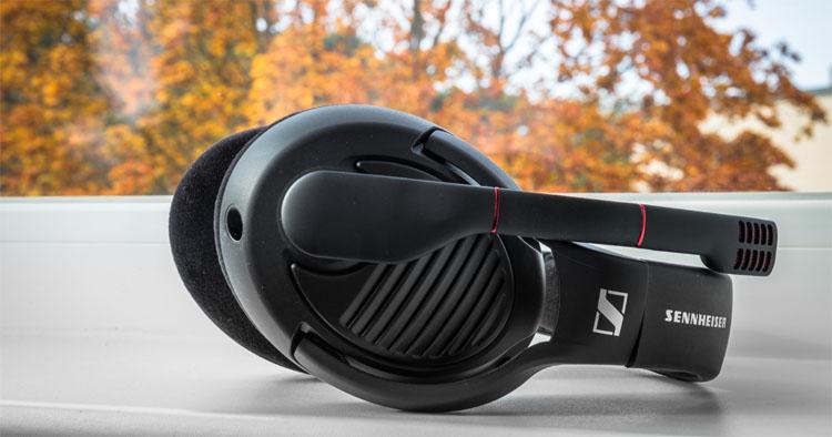 sennheiser pc 373d test headset