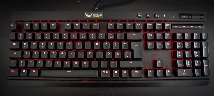 mx red switch corsair