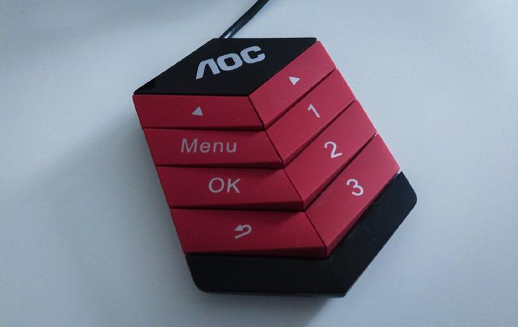 aoc agon ag241qx control pad