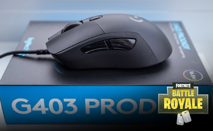 maus fuer fortnite g403