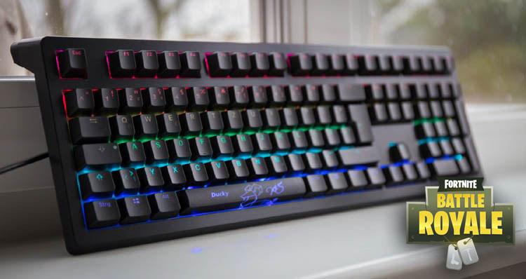 tastatur fuer fortnite ducky