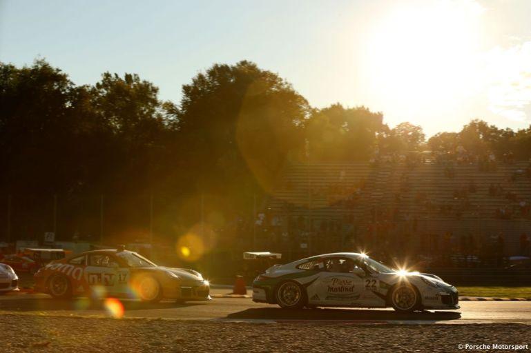 Porsche Mobil 1 Supercup Monza 2015 Come Ledogar (F) Philipp Eng (A)