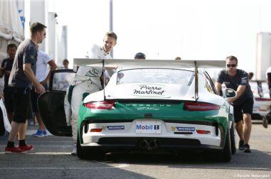 Porsche Mobil 1 Supercup Budapest 2015 Dokumentation Fahrerlager Come Ledogar (F)