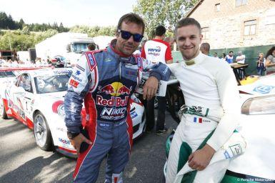 Porsche Mobil 1 Supercup Spa 2015 Sebastien Loeb (F) Come Ledogar (F)