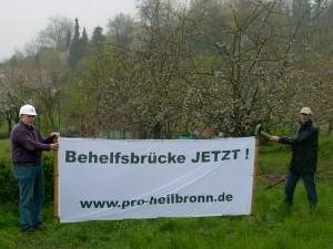 StR Heiko Auchter und StR Alfred Dagenbach