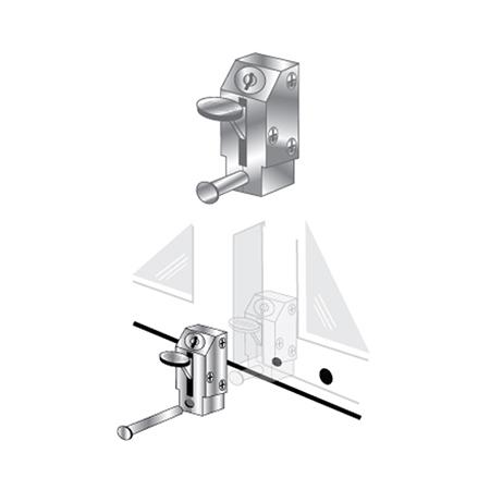 patio door lock keyed lever