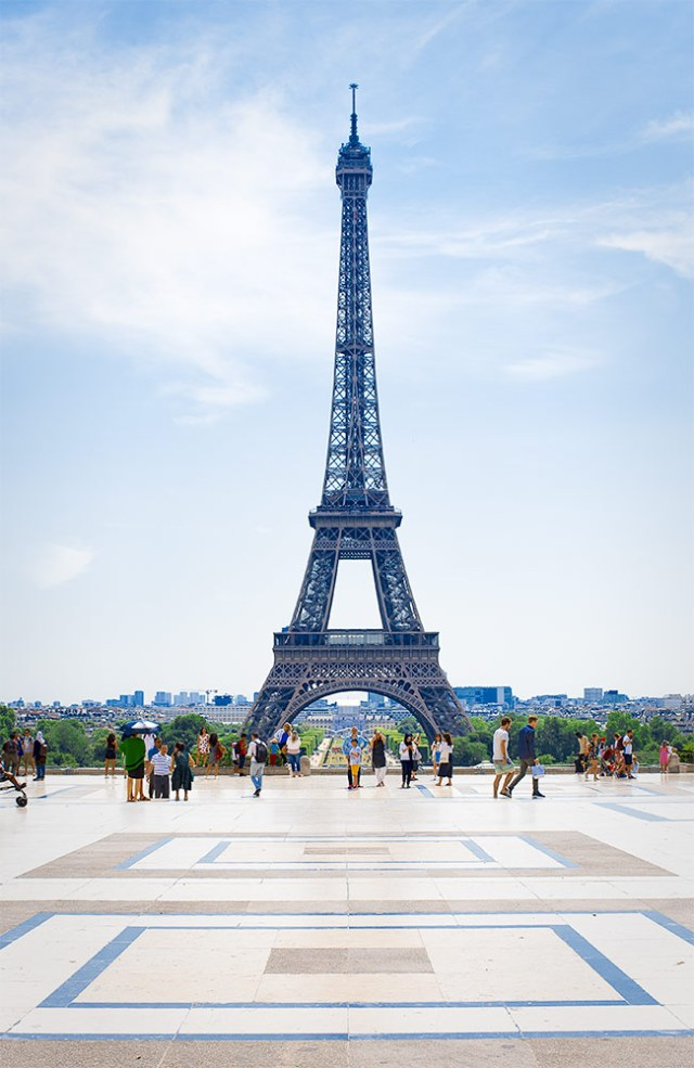 Eiffel Tower Paris fo rbranding photography for business women