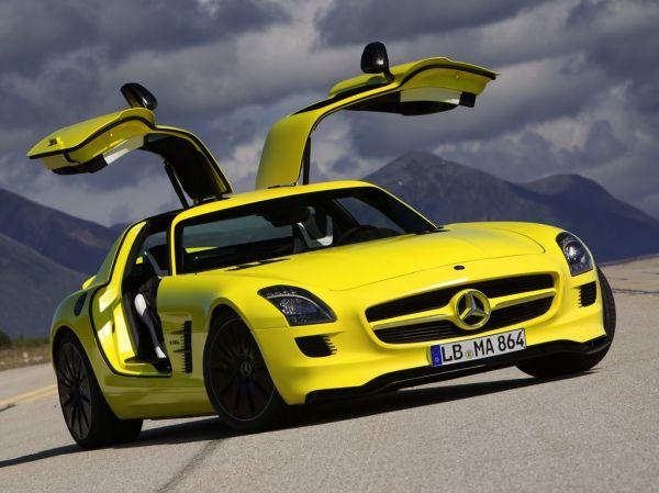 Mercedes SLS AMG E-Cell - характеристики, цена, фото ...