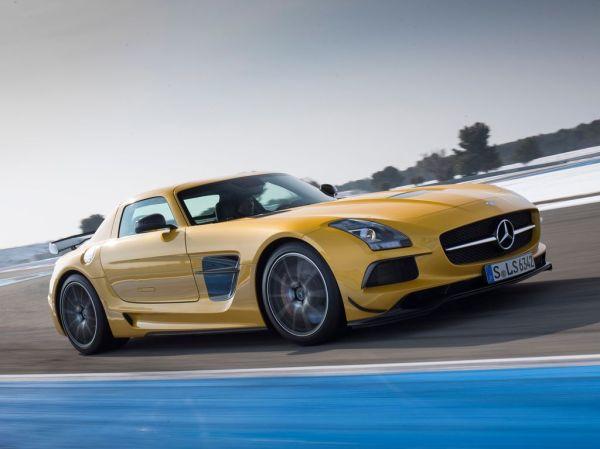 Mercedes SLS AMG Black Series: технические характеристики ...