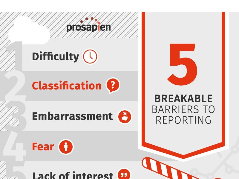 5 Breakable Barriers to Reporting… and how to bust them